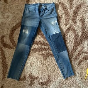 AE patch jeans